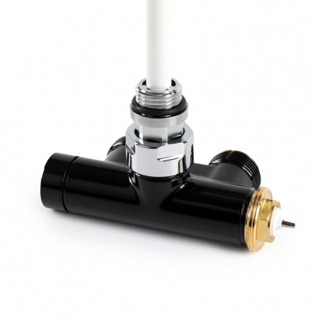 Изображение Вентиль інтегрований термостатичний з кутовою трубкою №1
