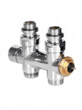 Вентиль інтегрований термостатичний прямий 1/2 – 24x19